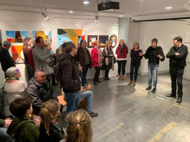 """L'Espai Macià acull l'exposició """"Figuracions i abstraccions"""" de l'artista local Josep Patau"""