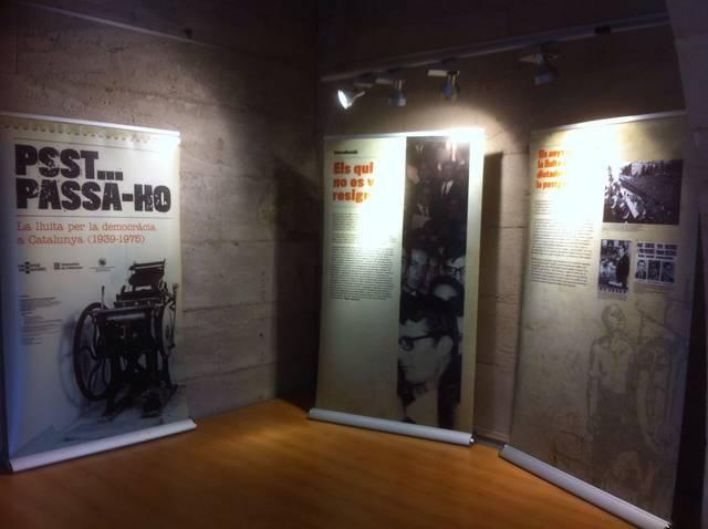 L'Espai Macià acull una exposició sobre la lluita clandestina antifranquista