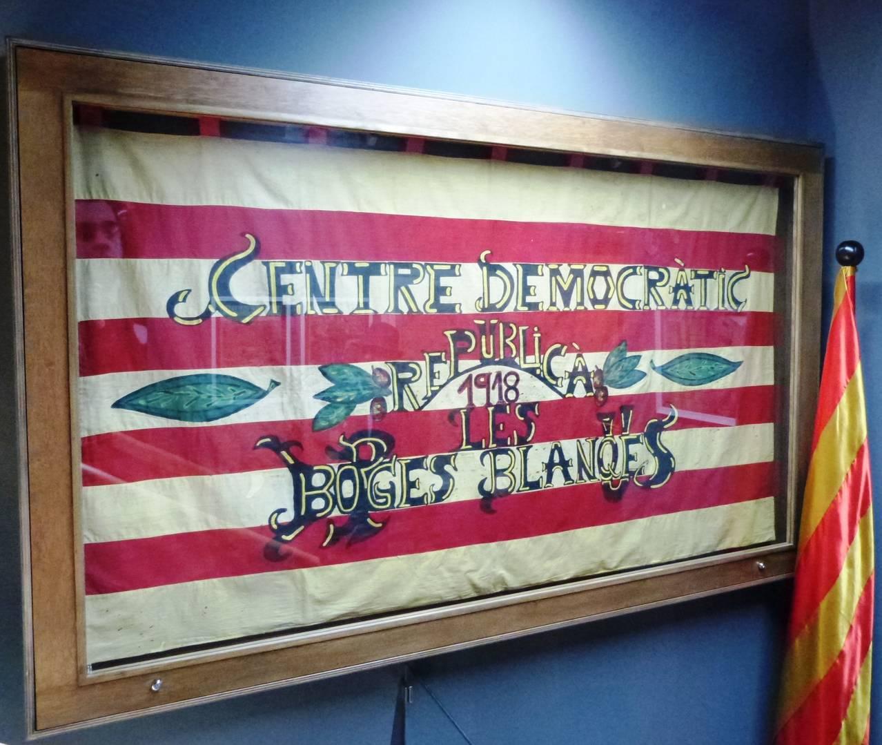 L'Espai Macià exposa el domàs de l'antic Centre Democràtic Republicà