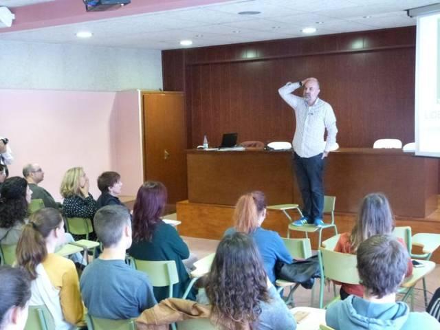 L'institut Josep Vallverdú acull la primera Jornada de l'Emprenedoria