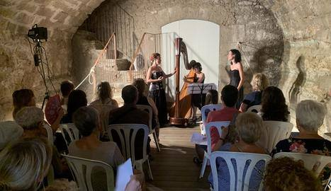 Música de cambra al cor d'un antic molí