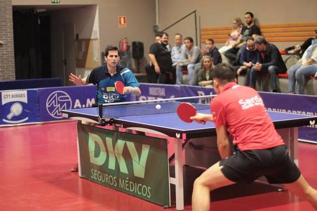 Nou jugadors del CTT Borges al Campionat d'Espanya