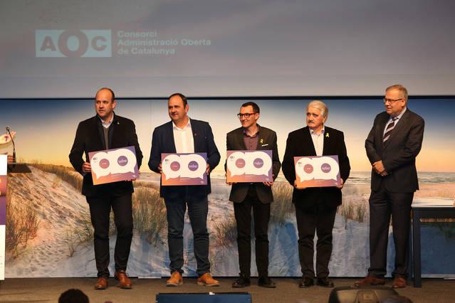 Premien el Consell Comarcal de les Garrigues per l'ús dels serveis electrònics