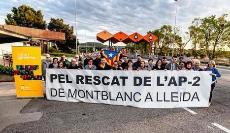 Reclamen rescatar el peatge de Lleida a Montblanc