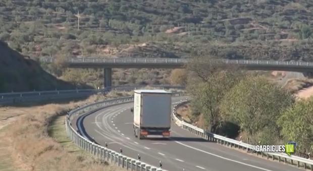 RESCAP-2 reclama la desviació de camions a l'AP-2 entre les Borges i Soses
