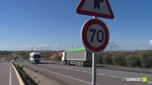 RESCAP-2 i la senadora Bailach demanen una tarifa reduïda al desviament obligatori de camions