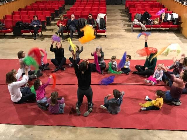 Sessió musical a Castelldans per als més petits