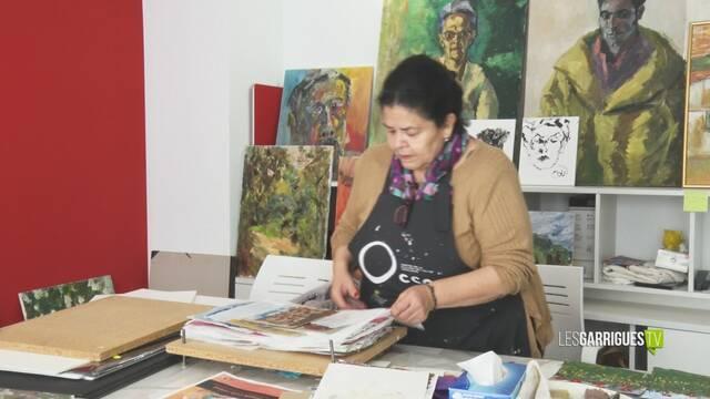 Sissi Salinas prepara Caos, la seva primera exposició en solitari