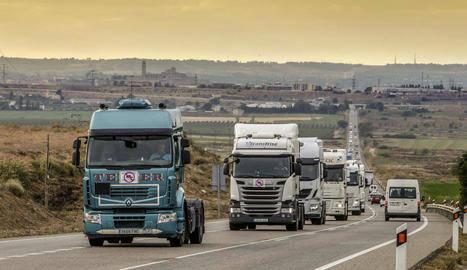 Talarn demanarà la desviació obligatòria de camions a l'N-240