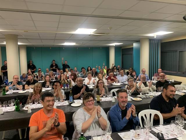 Tast de vins de Casa Mariol al Complex Cultural de Juneda organitzat per l'Associació Tastavins de Juneda