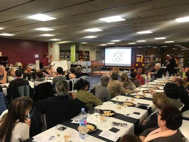 Tast de Vins i Jocs de Paraules a la Biblioteca de Juneda
