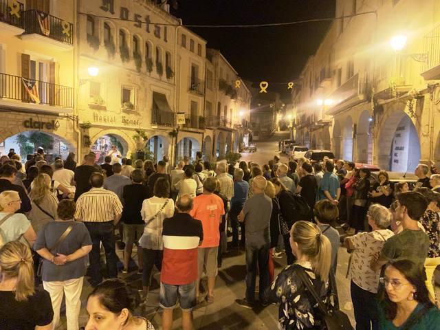 Tot a punt per als actes de commemoració de l'1 d'octubre a les Borges