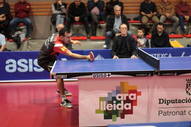 Tres jugadors del CTT Borges, als Campionats d'Espanya