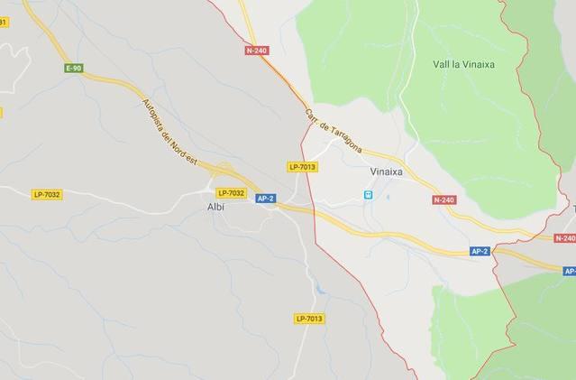 Un mort en un accident de tractor a Vinaixa