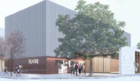 Urbanisme avala el teatre municipal de Les Borges Blanques