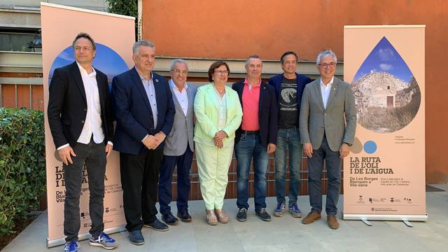Vila-sana i les Borges promocionen la nova Ruta de l'Oli i de l'Aigua