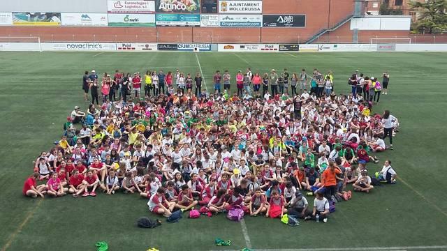 500 alumnes de 22 centres es reuneixen a Mollerussa en la 7a Trobada Esportiva de Primària