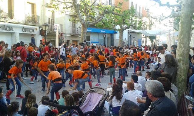 6 colles bastoneres ompliran els carrers de Mollerussa en la 10a Trobada Bastonera