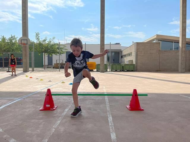 Al voltant de 250 infants han gaudit dels casals esportius
