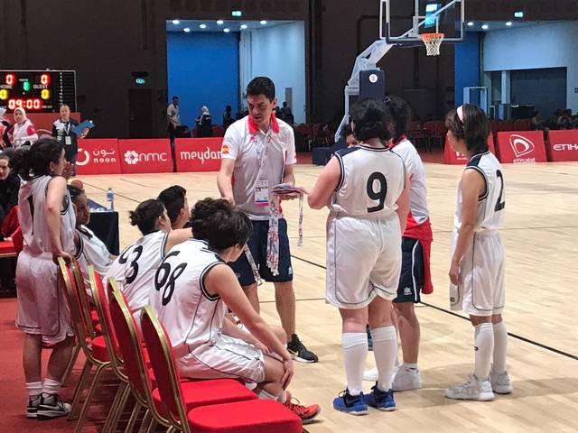 Álvaro Terreros, coordinador del servei d'Esport i Lleure de l'ACUDAM, participa en els Special Olympics World Games 2019 a Abu d'Habi