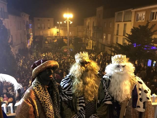 Els Reis Mags d'Orient visiten el Pla d'Urgell