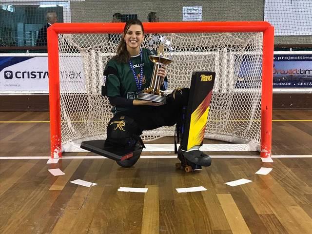 Anna Ferrer, del CP Vila-sana, campiona d'Europa d'hoquei patins