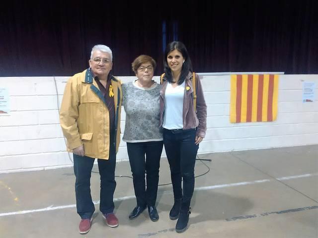 Carme Ribes serà la cap de llista d'Ara Miralcamp–AM les properes eleccions municipals