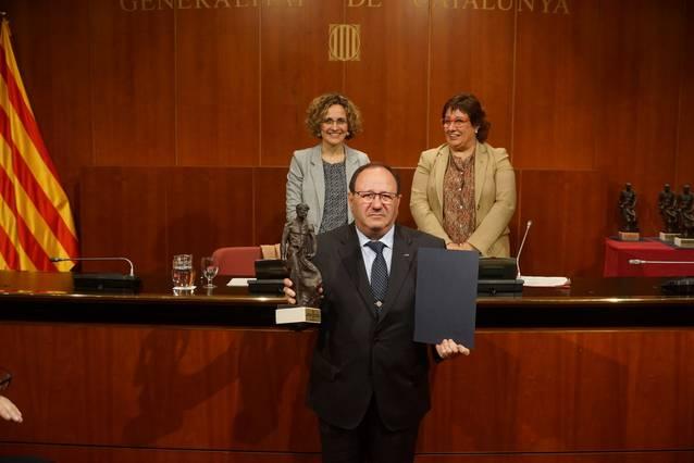 El Consell Català de la Formació Professional premia a Antoni Miquel de Tallers A.Miquel