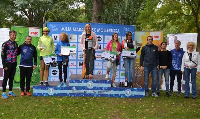 David Martínez i Laia Andreu, guanyadors de la 31a Mitja Marató de Mollerussa