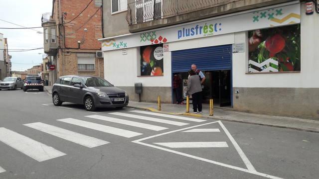 Detingut un veí de Castellserà que va intentar atracar un supermercat de Linyola