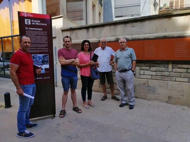 Donen a conèixer enterraments no registrats de la Guerra Civil a Ivars d'Urgell i al Palau d'Anglesola