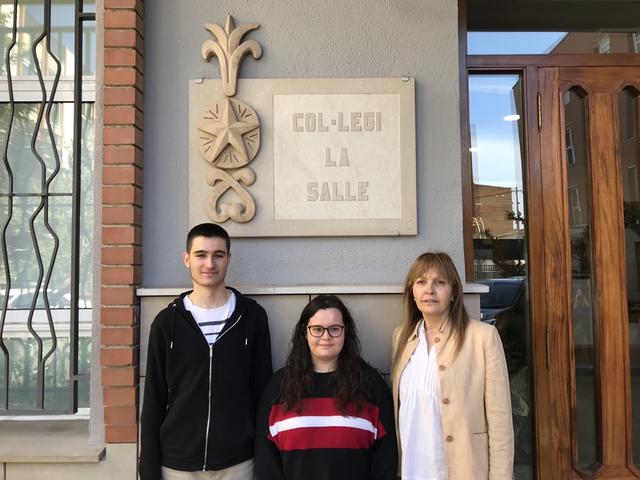 Dos alumnes de la Salle guanyen l'Olimpíada d'Economia de la Universitat de Lleida
