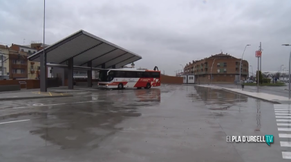 EixBus incorporarà una nova parada a l'estació de Mollerussa