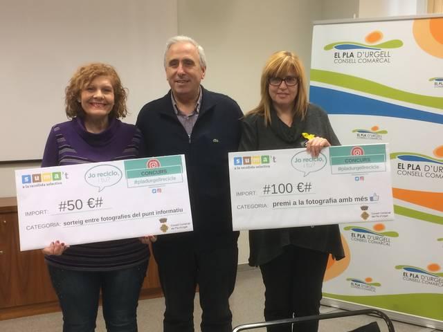 El Consell Comarcal entrega els premis del concurs #pladurgellrecicla