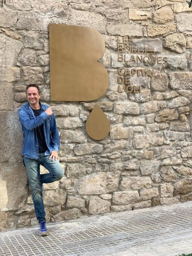 El cuiner Sergio Torres visita la Ruta de l'Oli i l'Aigua