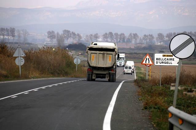 El DOCG publica els terrenys afectats per les obres de millora la Cta. Linyola-Bellcaire