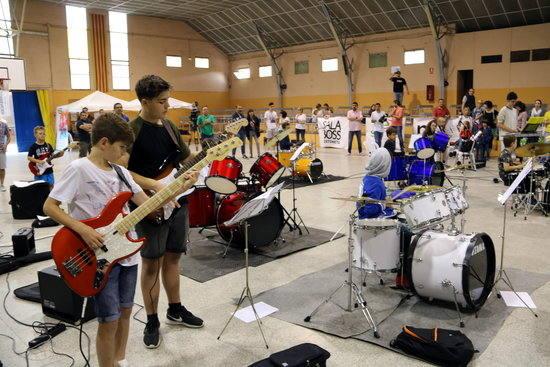 El No Surrender Festival de Vilanova de Bellpuig reuneix aquest diumenge als músics menors de 16 anys per assajar