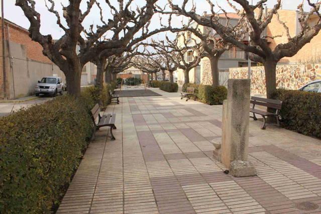 El Palau d'Anglesola obre el període de recepció d'ofertes per a arranjar la Plaça 1 d'octubre