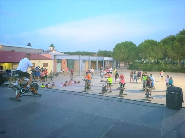El Palau d'Anglesola inicia classes de 'Spinning'