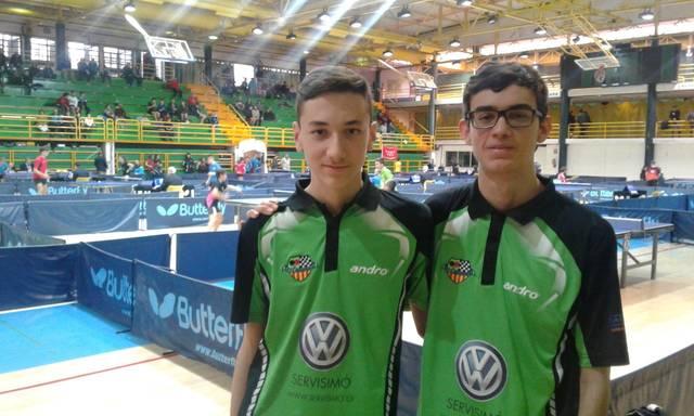 Foto: Ramon Fernández. Iván Fernández (esquerra) i Cristian Fernández (dreta)