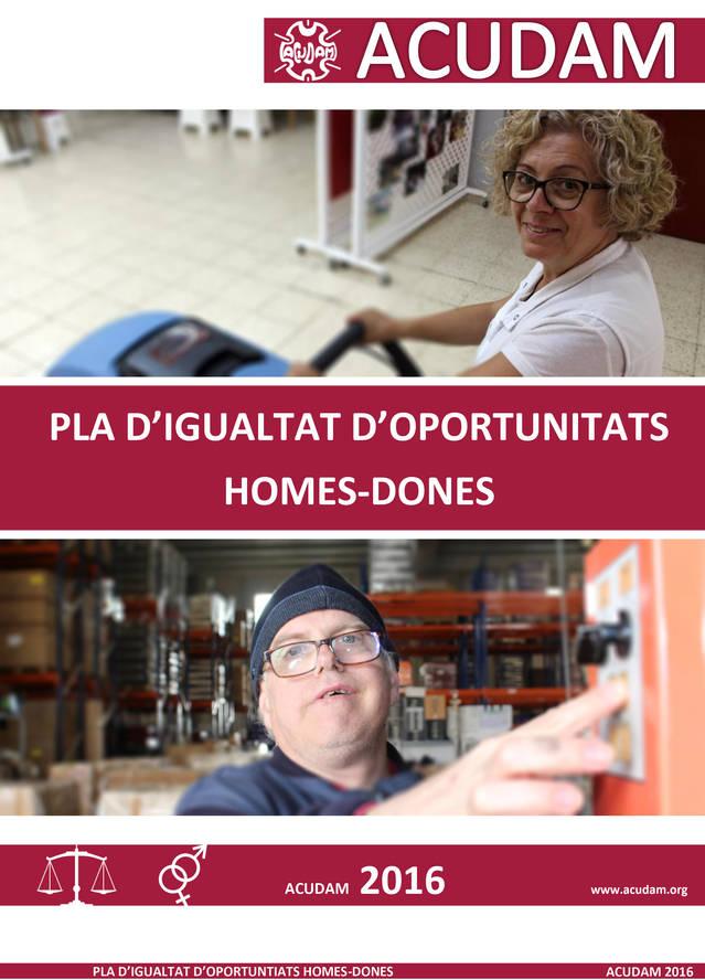 El Registre de Plans d'Igualtat de la Generalitat accepta el Pla d'Igualtat d'ACUDAM.