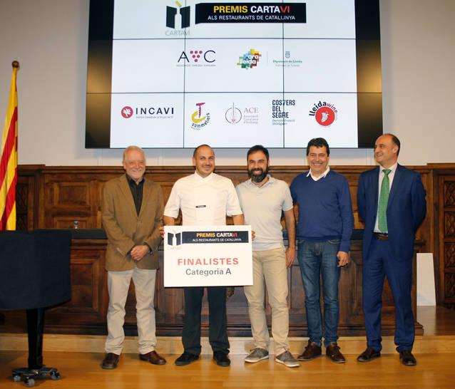 El restaurant La Boscana, entre els finalistes dels Premis Cartaví 2018