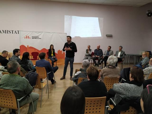 Engelbert Montalà, candidat d'ERC a l'ajuntament de Mollerussa, aposta per fomentar la participació ciutadana, l'ecologisme i impulsar el comerç si guanya les eleccions