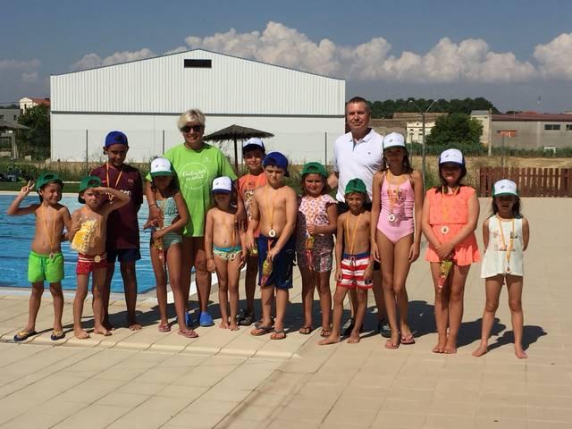 Entrega de medalles de natació a Vila-sana