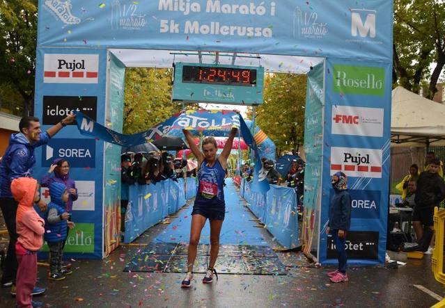Eva Ribalta i Ricard Pastó guanyen la Mitja Marató de Mollerussa