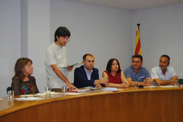 Francesc Balcells és el nou alcalde del Palau d'Anglesola