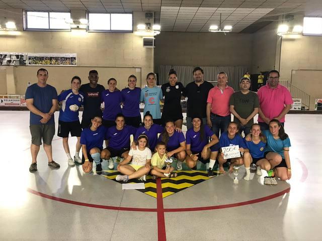 Gegenpressing guanya el torneig 12 hores de Futbol Sala Femení de Vila-sana