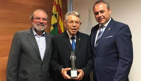 Golmés homenatja el jutge de pau després de 45 anys al càrrec