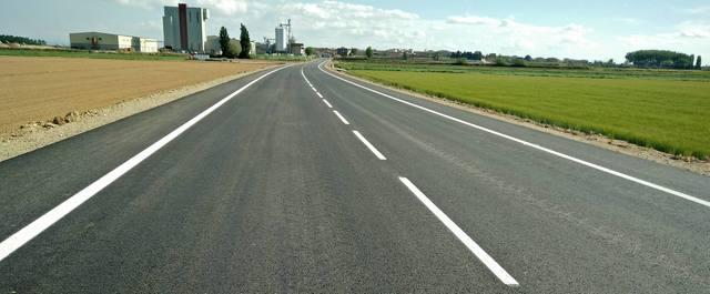 Ja es pot circular per l'LP-3322 entre Linyola i Bellcaire