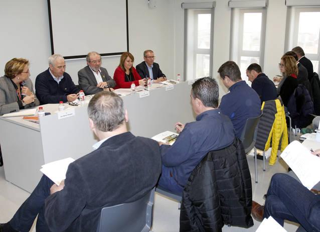 Joan Reñé enceta al Pla d'Urgell la roda de reunions comarcals amb els alcaldes